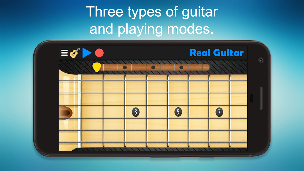 Real Guitar - Guitar Playing Made Easy. The App Store android Code Lads