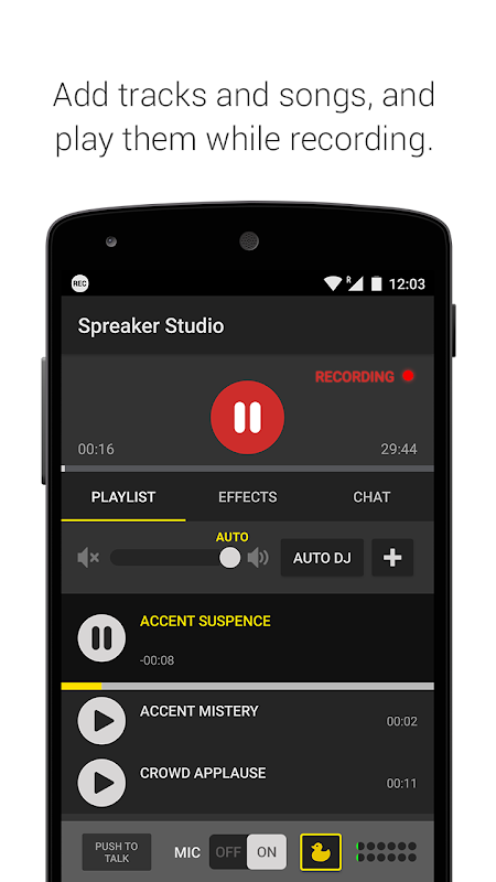 Spreaker Studio The App Store android Code Lads