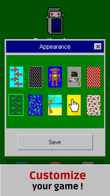Screenshot Solitaire Retro APK