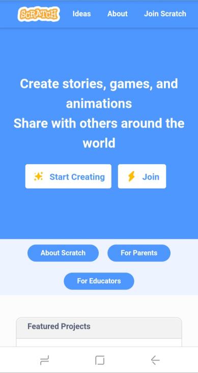 Screenshot Scratch Android APK