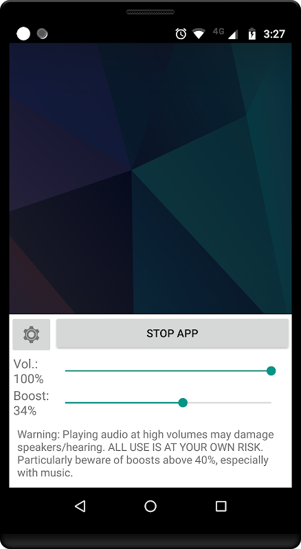Amplificador de Volumen GOODEV The App Store android Code Lads