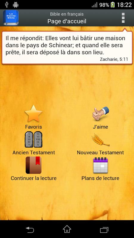 Bible en français Louis Segond The App Store