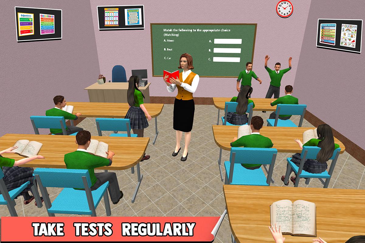 High School Teacher Simulator: Virtual School Life The App Store