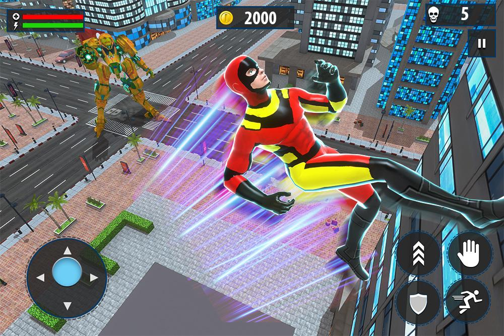 Light Speed Robot Hero: Vice Crime City Gangster The App Store android Code Lads