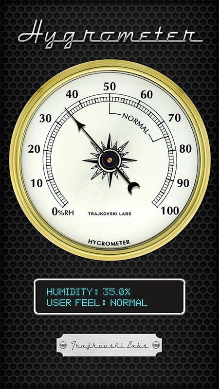 Hygrometer The App Store