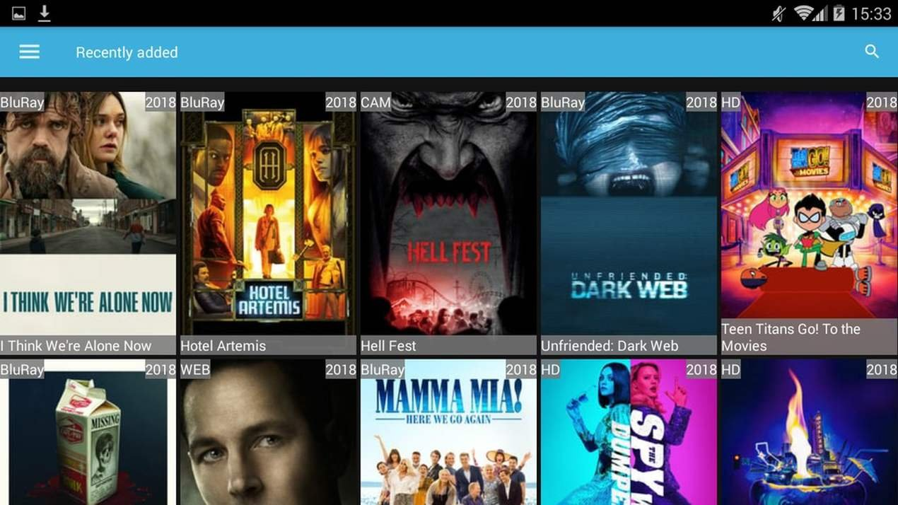 Screenshot Watch Free Movies Openload - Opentube APK