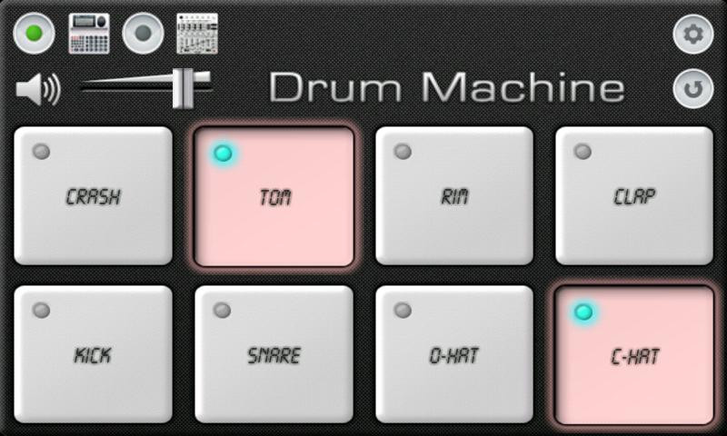 Drum Machine The App Store android Code Lads