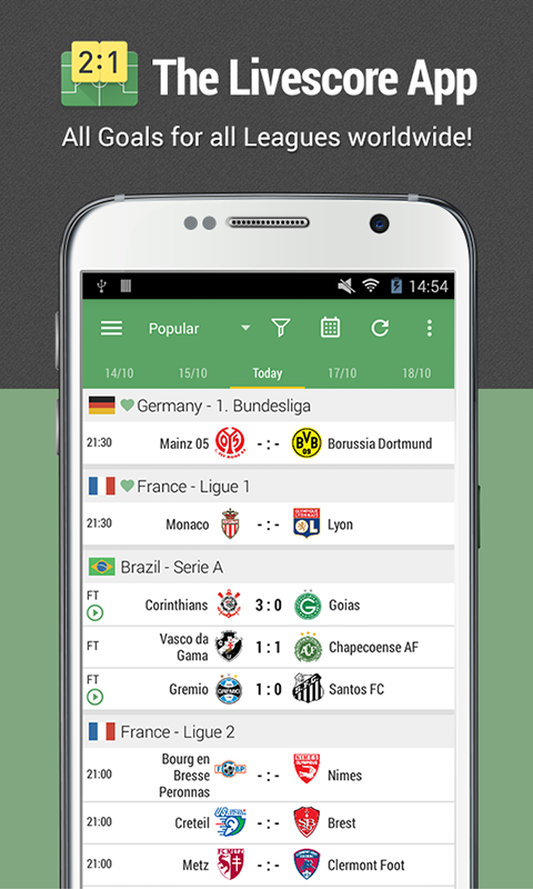 All Goals - Football Live Scores & Videos The App Store