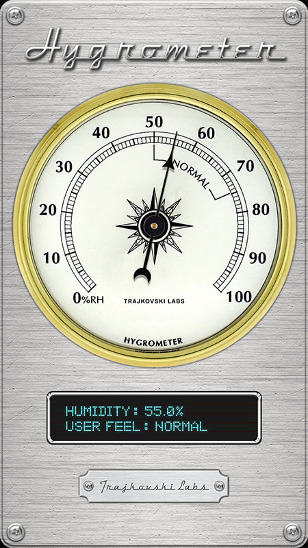 Hygrometer The App Store android Code Lads