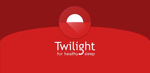 Twilight 🌅 Blue light filter for better sleep
