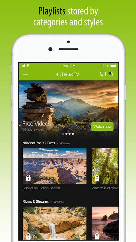 4K Nature Relax TV The App Store android Code Lads