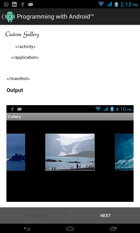 Screenshot Programming with Android™ APK