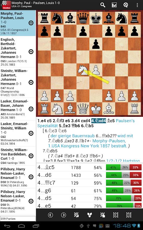 Screenshot ChessBase Online APK