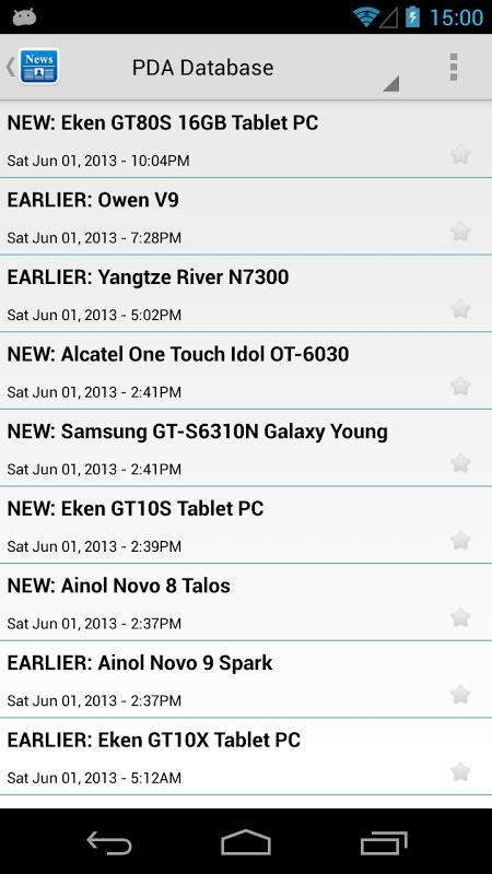 Screenshot Droid News APK