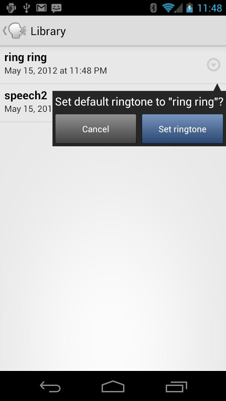 Screenshot Type and Speak APK