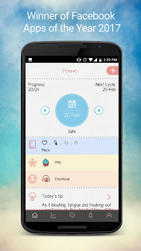 Maya - Period, Fertility, Ovulation & Pregnancy The App Store android Code Lads