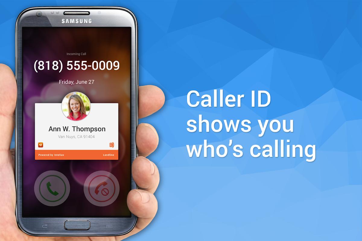 Screenshot Intelius Background Check Caller ID & Phone Lookup APK