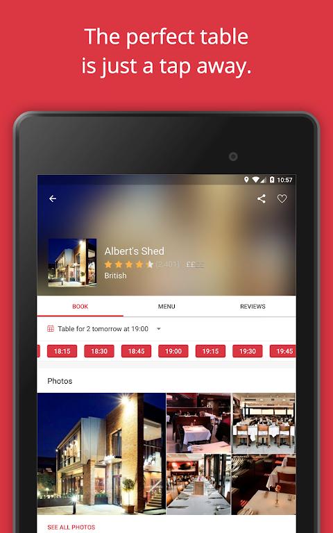 Screenshot OpenTable - Book Restaurants APK