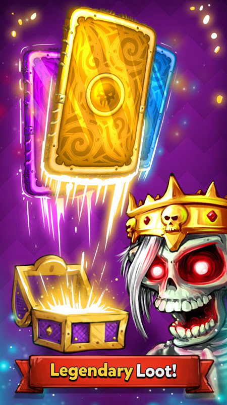 Screenshot Card Crushers - Deck building CCG APK