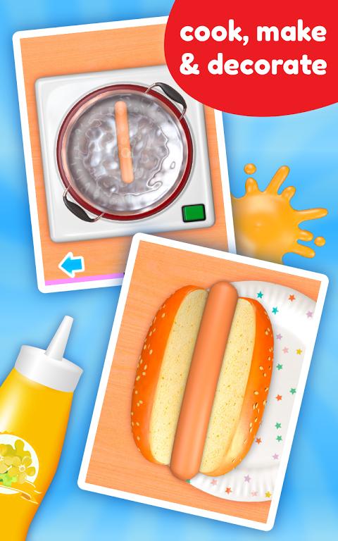 Screenshot Cooking Game - Hot Dog Deluxe APK