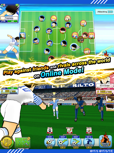 Screenshot Captain Tsubasa: Dream Team APK