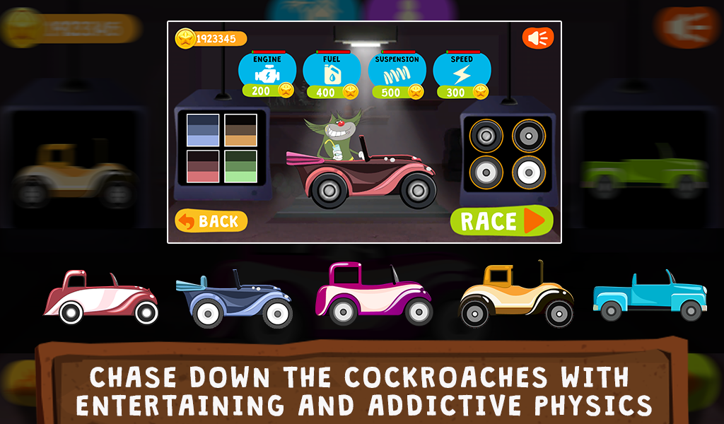 Screenshot Oggy Go - World of Racing (The Official Game) APK