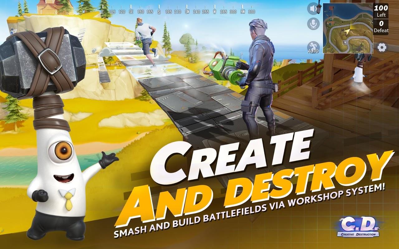 Screenshot Creative Destruction APK