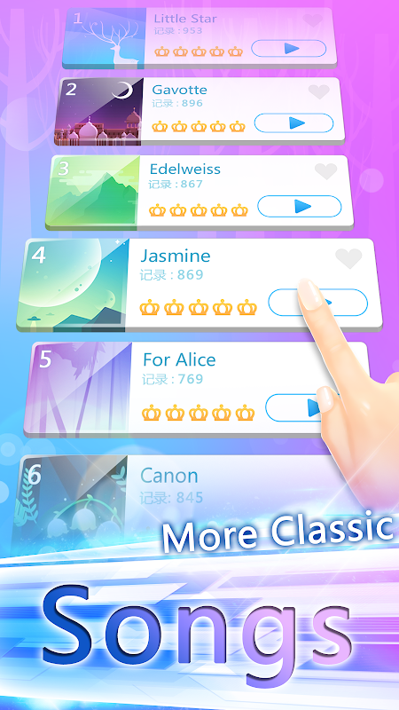 Screenshot Piano White Go! - Magic World on Music Tiles APK