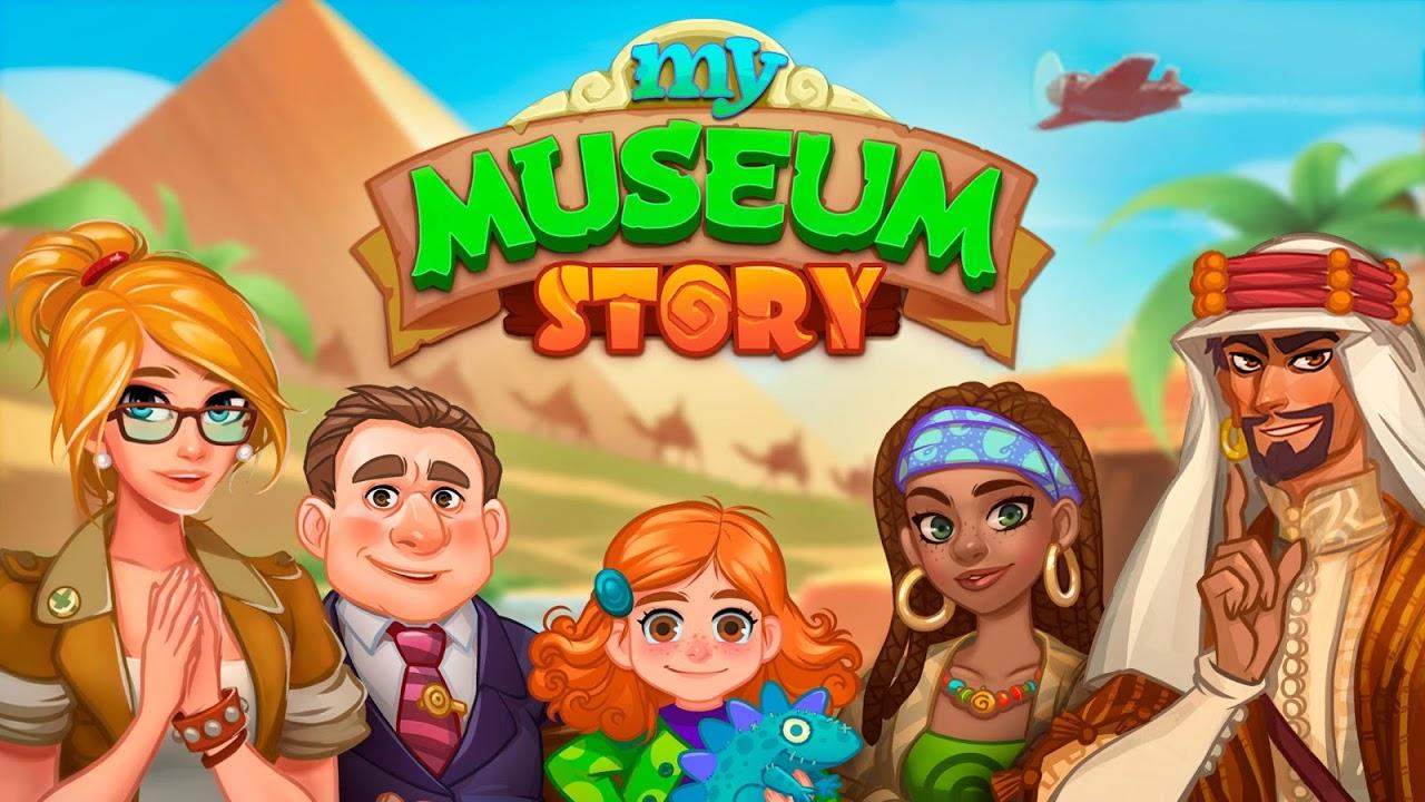Screenshot My Museum Story: Mystery Match APK