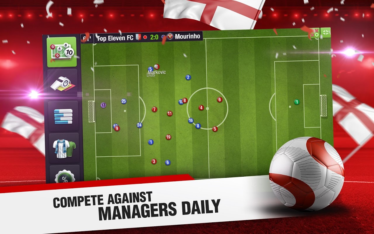 Screenshot Top Eleven 2018 - Be a Football Manager APK
