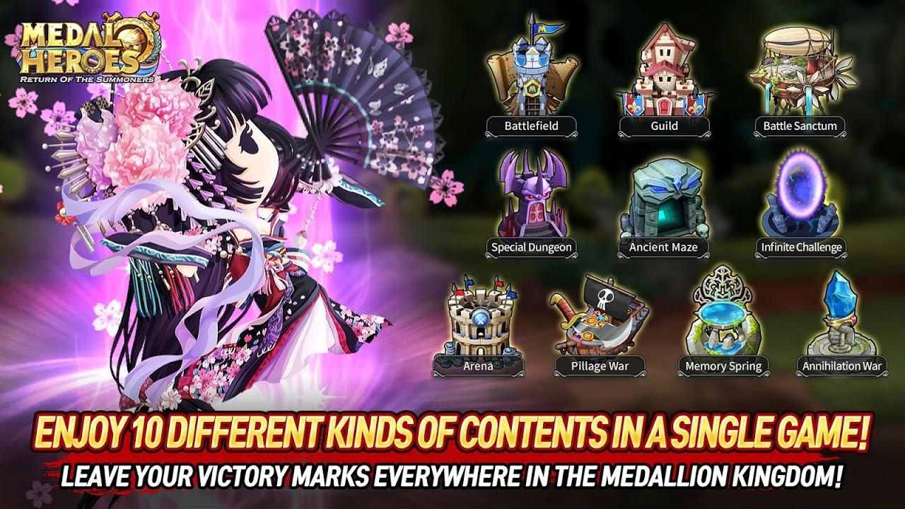 Screenshot Medal Heroes : Return of the Summoners APK