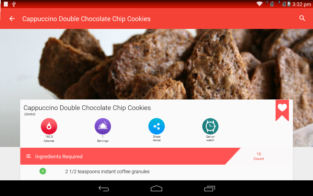Cookies And Brownies Recipes The App Store android Code Lads