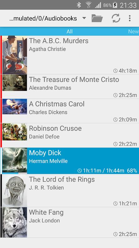 Screenshot Smart AudioBook Player APK