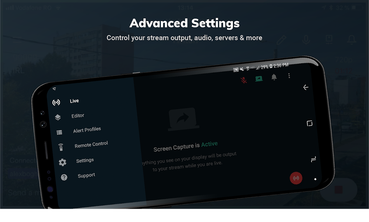 Screenshot Streamlabs - Stream Live to Twitch and Youtube APK