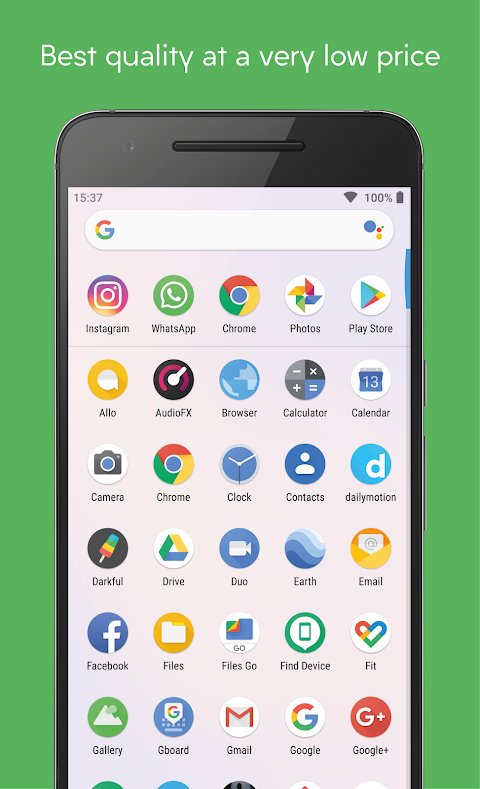 Pixelful Icon Pack - Apex/Nova/Go The App Store android Code Lads