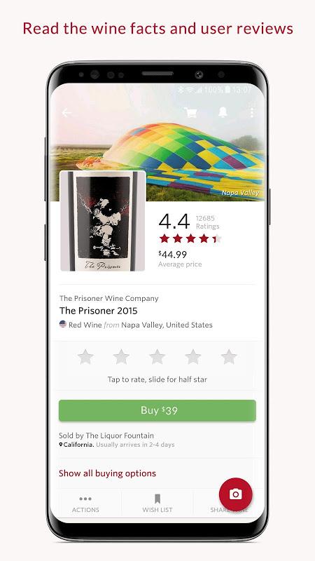 Screenshot Vivino: Buy the Right Wine APK