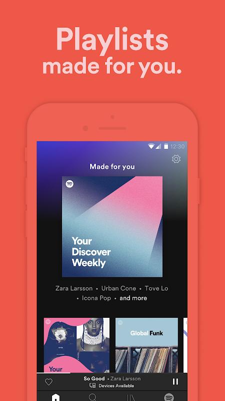 Screenshot Spotify: Free Music Streaming APK