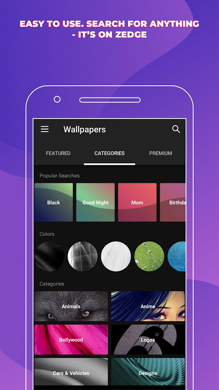 ZEDGE™ Ringtones & Wallpapers The App Store
