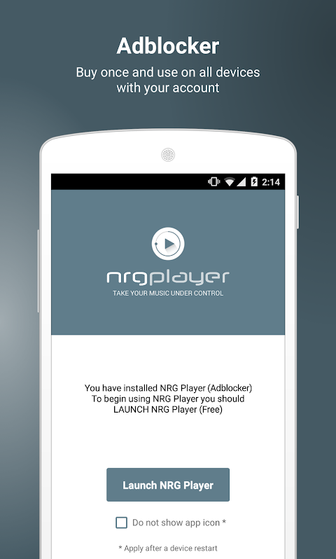 NRG Player Adblocker The App Store