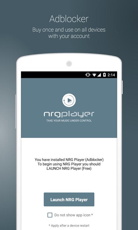 NRG Player Adblocker The App Store