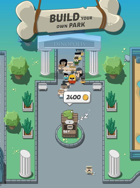 Screenshot Crazy Dino Park APK