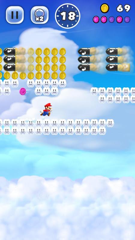 Screenshot Super Mario Run APK