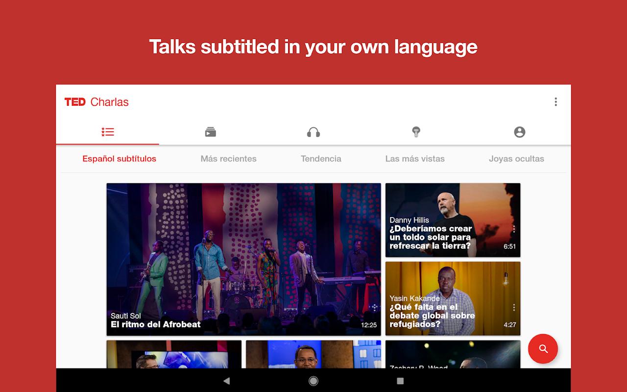 Screenshot TED APK