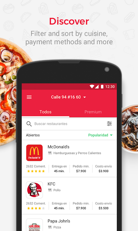 Domicilios.com - Order food The App Store