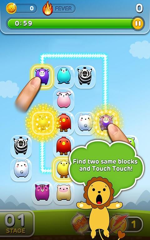 Screenshot LINE Touch Touch APK