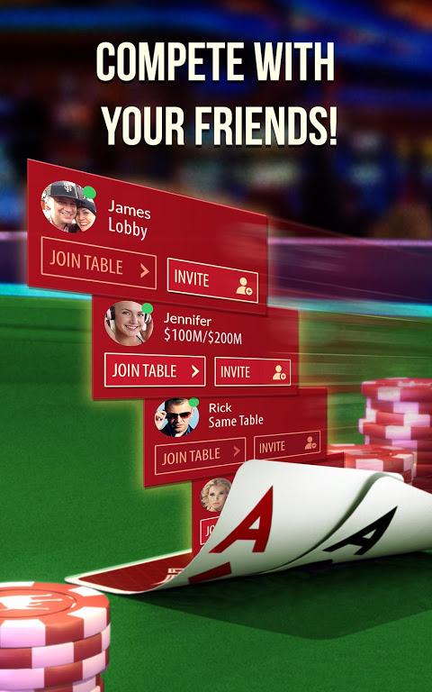Screenshot Zynga Poker – Texas Holdem APK