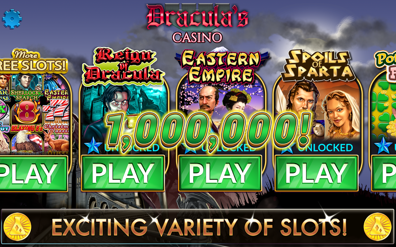 Screenshot Slots - Dracula's Casino APK