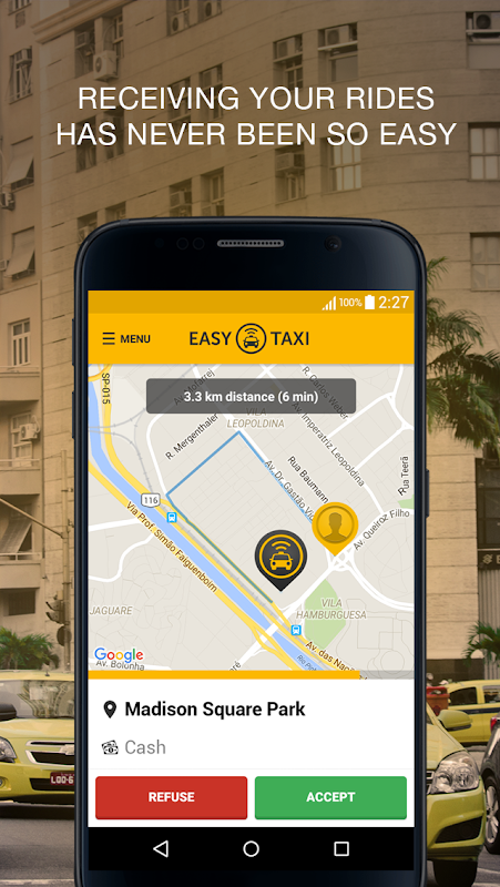 Easy for drivers, a Cabify app The App Store android Code Lads