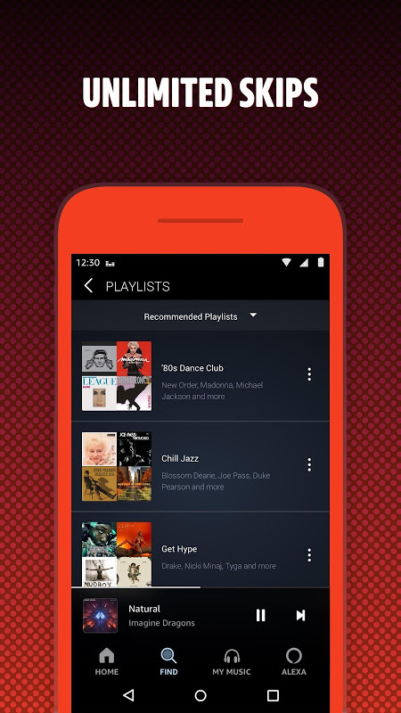 Amazon Music: Stream & Download the Songs You Love The App Store android Code Lads