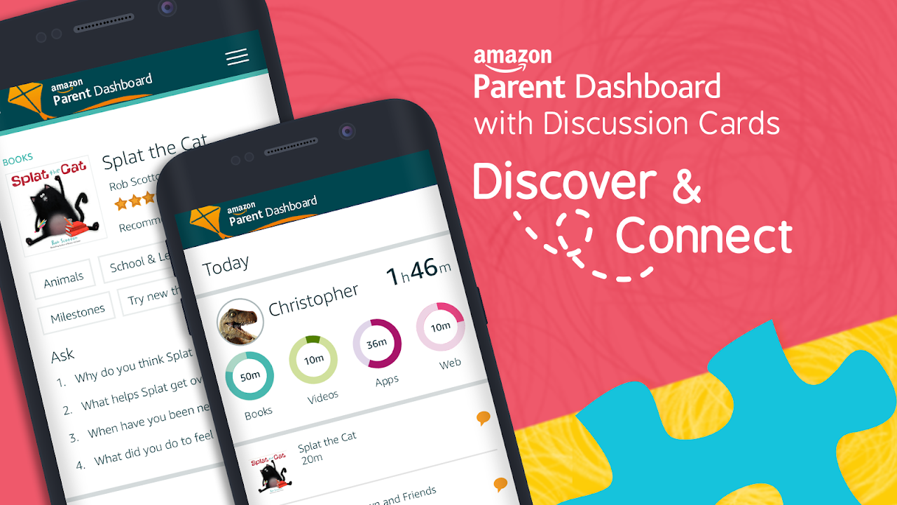 Screenshot Amazon FreeTime – Kids' Videos, Books, & TV shows APK